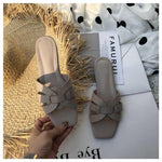 Load image into Gallery viewer, Summer Slides Open Toe Flat Casual Shoes Leisure Sandal Female Beach Flip Flops Big Size 41