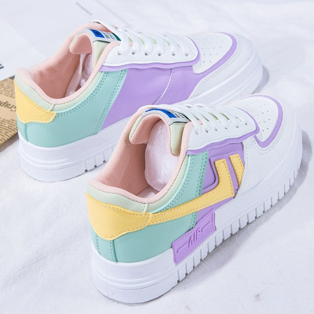 New Fashion Women Canvas Sneakers