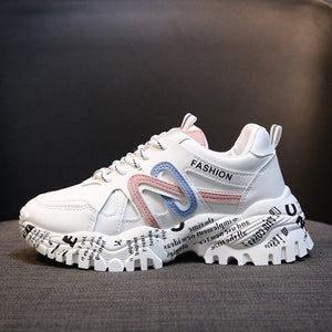 Ladies Fashion Chunky Sneakers