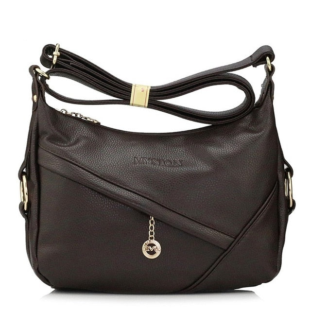 High Quality Retro Vintage Women's Genuine Leather Handbag