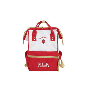 Japanese Style Backpack Harajuku Cute School Teenage Strawberry Bag