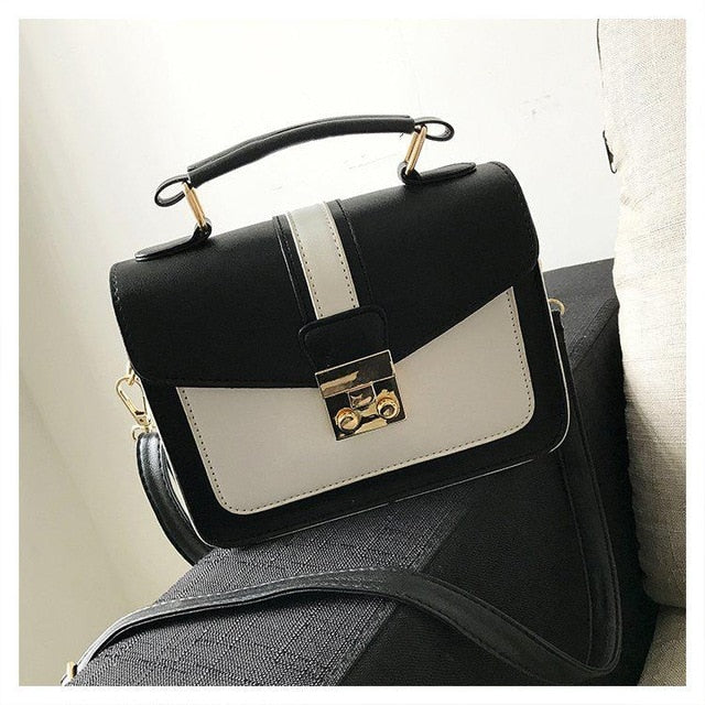 New Women Bag Stylish Handbag With Matching Colors Women Messenger Bags Women's Pouch Evening Party Package Handbags