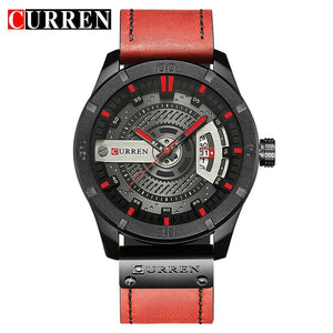 Men Waterproof Calendar Sport Military Top Brand Luxury 3D Wristwatch