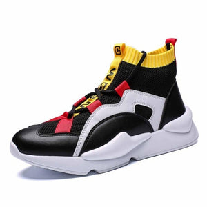 Mens Sneakers High Top  Shoes Casual Shoes