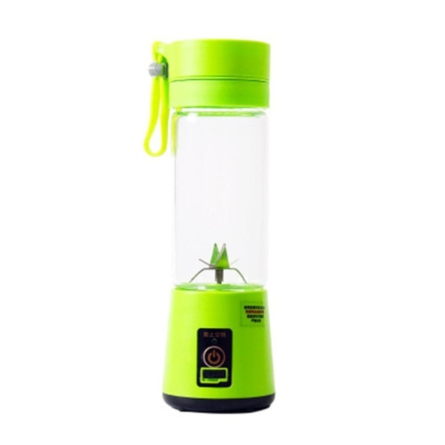 Portable USB Electric Fruit Juicer With Charging Cable