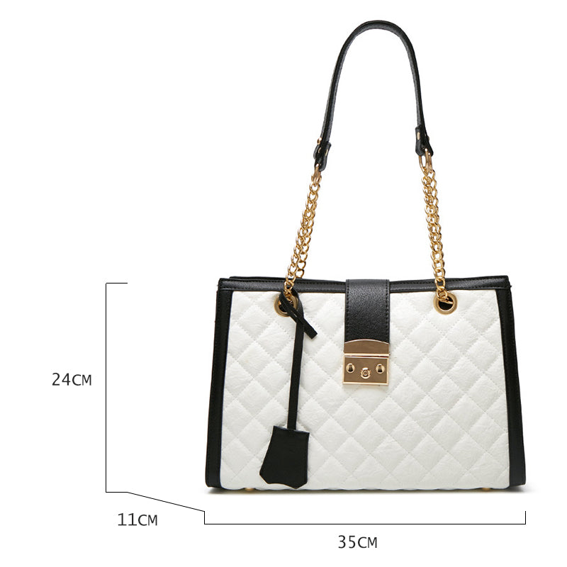 Luxury Handbags Designer Bags Famous Brand Women Bags 2019 New Large Capacity Quilted Shoulder Bag Bolsos Mujer De Marca Famosa