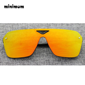 Fashion Vintage Frameless Reflector Sports Sunglasses