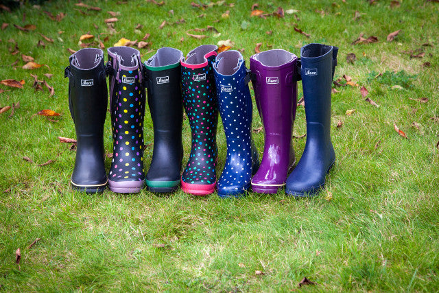 Have you Seen how our Wide Calf Wellies are made?