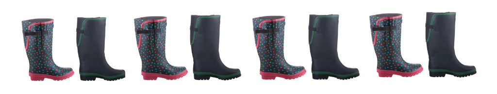 Extra Wide Calf Wellington Boots for Plus sized Women