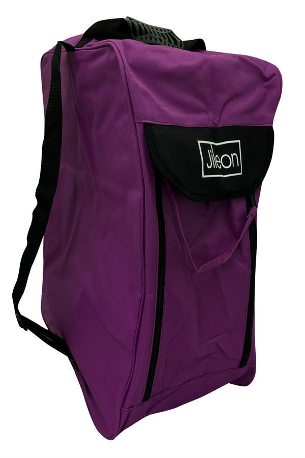 Purple Wellington Boot Bag - Durable Boot Storage in 3 Colour Choices - Wide Calf Wellies for Women