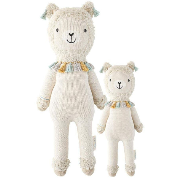 cuddle + kind Hand Knit Little Dolls | Lucas the Llama