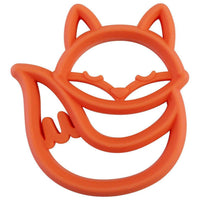 Itzy Ritzy Chew Crew Silicone Teether | Fox