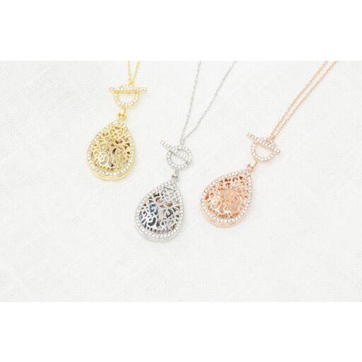 Bella Toggle Locket Necklace