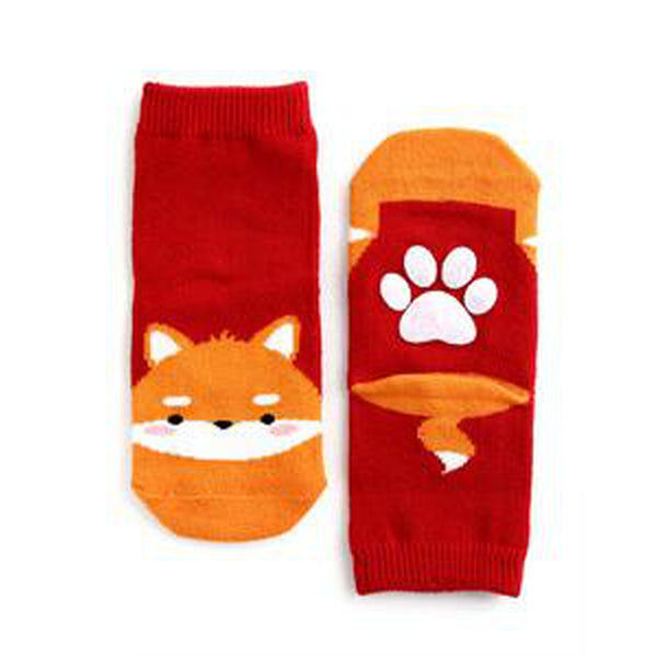 Zoo Socks with Paw Shaped Skid-Proof Grip | Infant through 8 Yrs