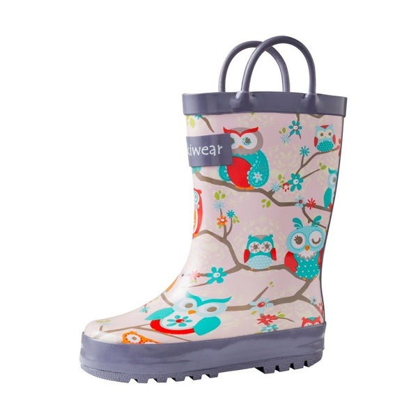 Loop Handle Rainboots | Perched Owls