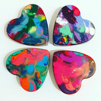 Art 2 the Extreme | Mini Heart Crayons