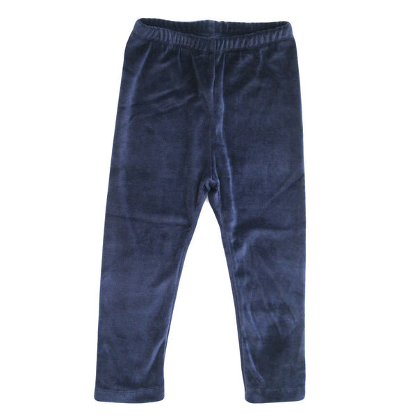Baby and Toddler Velour Leggings | Navy