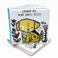 Color Changing Bath Book | Who Loves Pets?