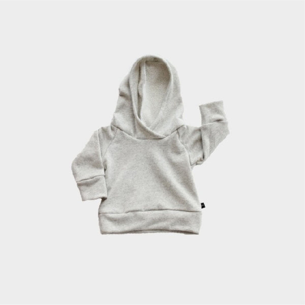 French Terry Hoodie | Heather Gray