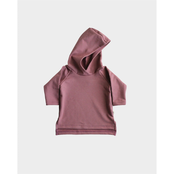 Hooded Fleece Tunic | Rose Brown