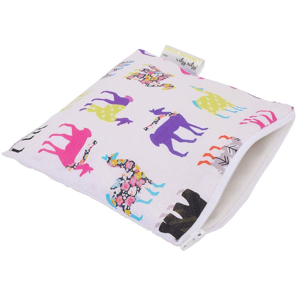 Reusable Snack and Everything Bag | Llama Glama