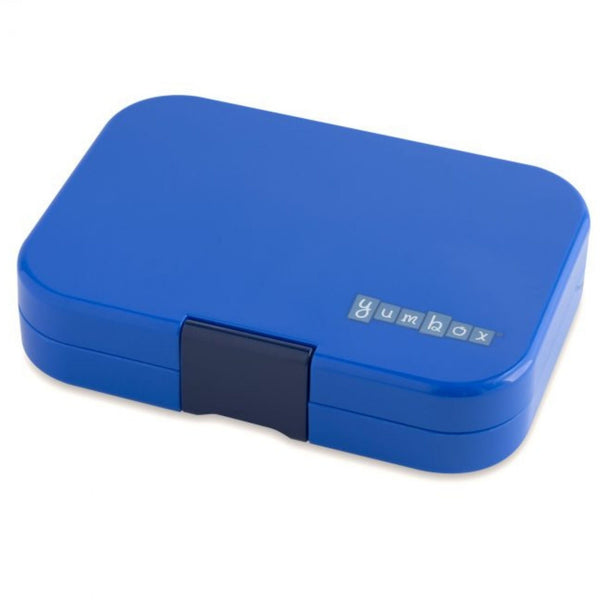 Yumbox Panino 4 Compartment Sandwich Box | Neptune Blue