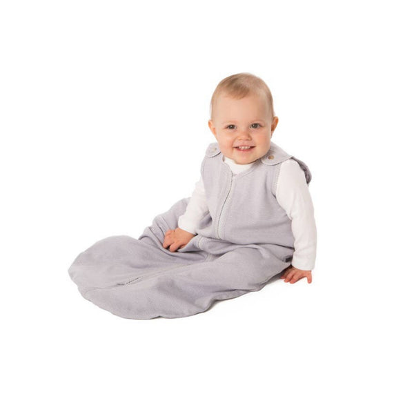 Sleep Nest Lite Sleep Sack  | Light Gray Stripe