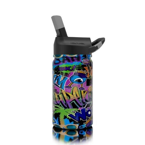 Lil SIC 12 oz Insulted Water Bottle | Graffiti