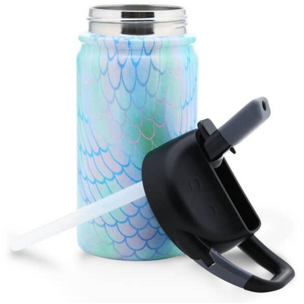 lil SIC 12oz Insulated Water Bottle | Mermaid