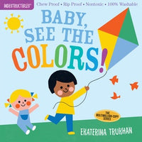 Indestructibles Books | Baby See The Colors!