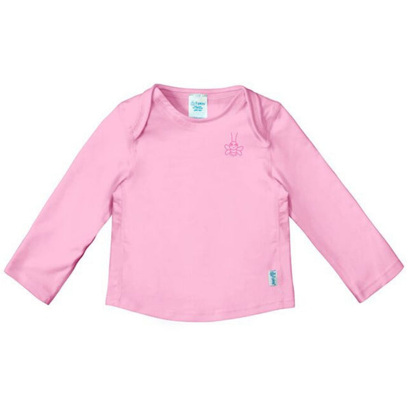 iPlay Easy-on Long Sleeve UPF 50+ Rashguard  | Light Pink