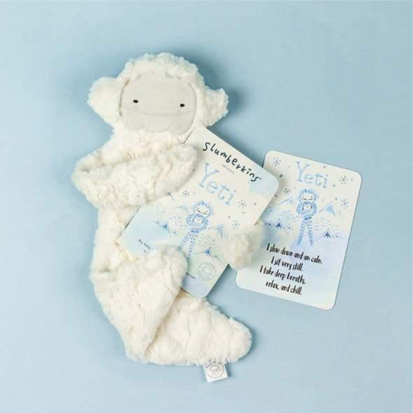 Slumberkins Yeti Snuggler Bundle | Grey