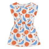 Winter Water Factory Sierra Dress | Yummy Fruit | Blue & Orange