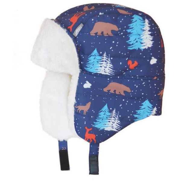 Jan & Jul Winter Trapper Hat | Woodland