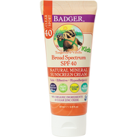Badger Kids Clear Zinc Sport Sunscreen | Tangerine + Vanilla