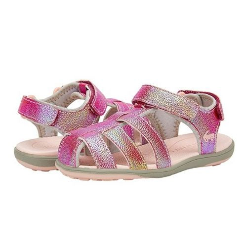 Paley Water-Friendly Toddler Sandal | Hot Pink Shimmer
