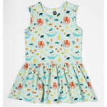 Toddler and Little Kid Tank Dress | Under The Sea