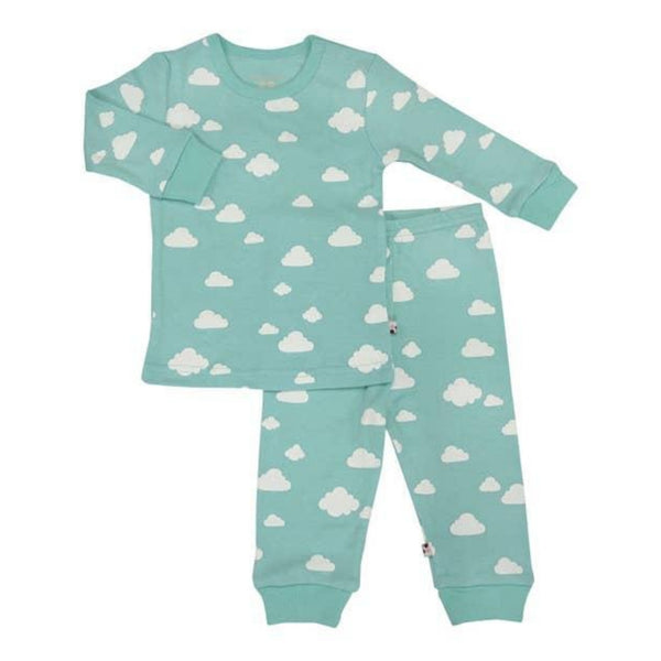 Babysoy Long Sleeve Lounge Set | Clouds