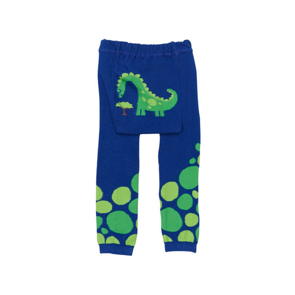 Baby and Toddler Cotton Leggings | Hungry Dino
