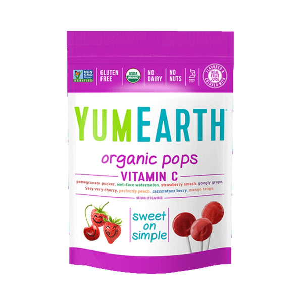 Yum Earth Organic Vitamin C Pops