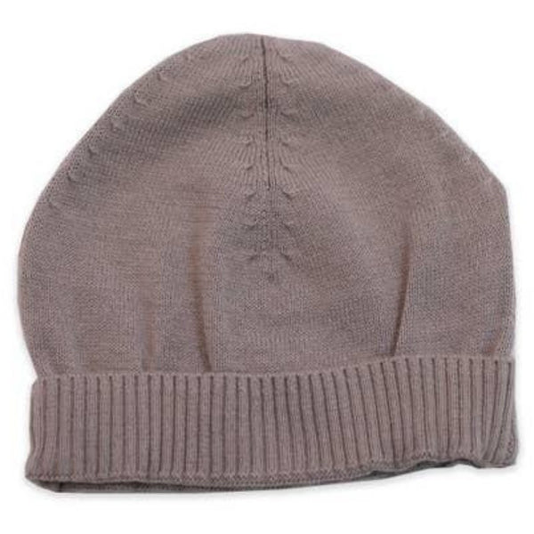 Viverno Organic Cotton Knit Hat | Grey