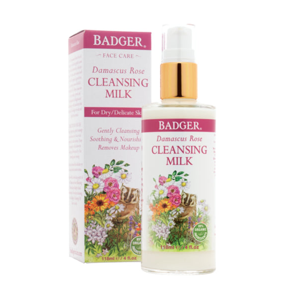 Damascus Rose Organic Cleansing Milk