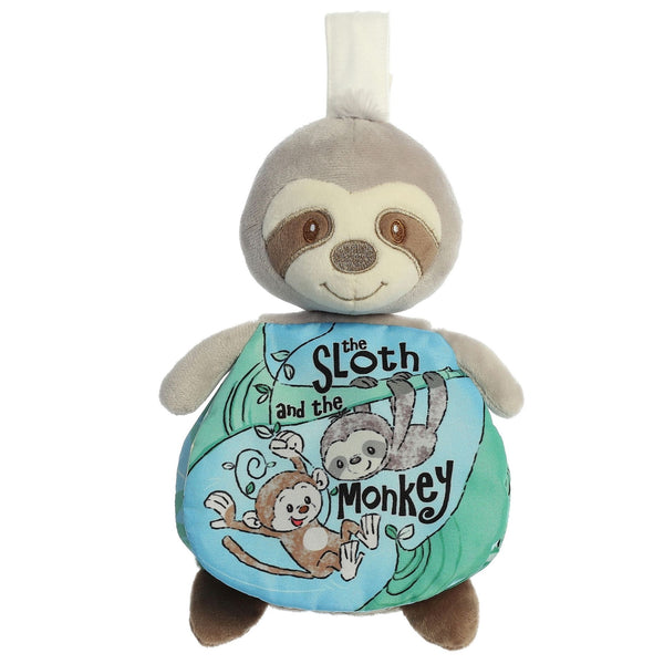 The Sloth And The Monkey Soft Story Crinkle Book
