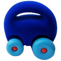 Eco-Friendly Natural Rubber Squishy Mascot Car
