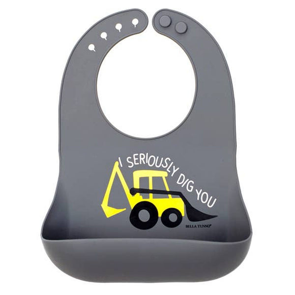 Bella Tunno Silicone Pocket Bib | Seriously Dig