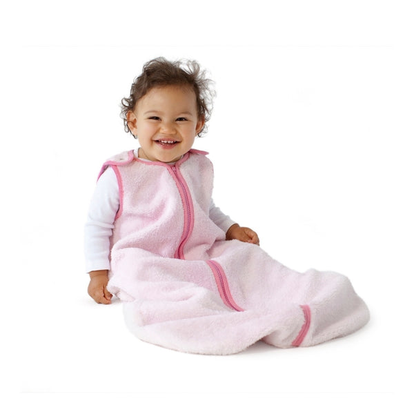 Sleep Nest Teddy Winter Weight Sleep Sack | Pink