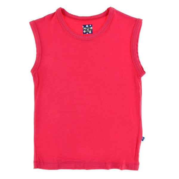 Kickee Pants Sports Tank | Red Ginger