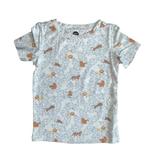 Bird & Bean Short Sleeve Tee | Lions, Tigers, and Bears