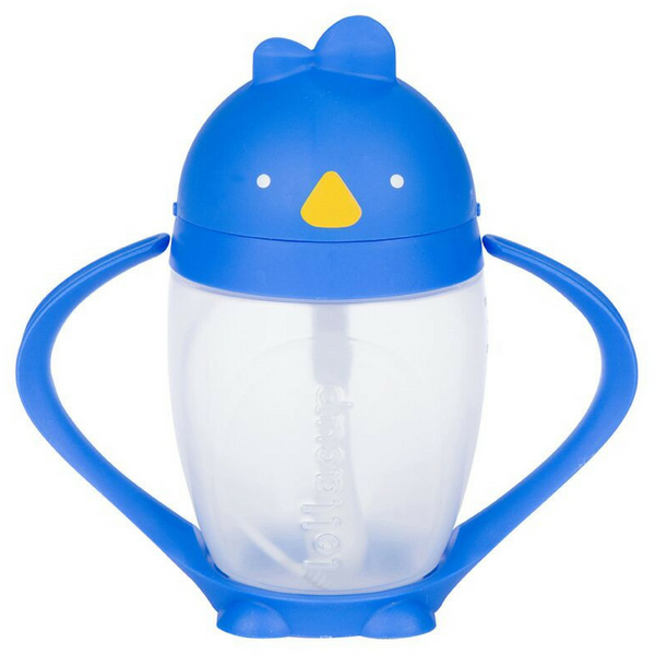 Lollacup Straw Sippy Cup | Brave Blue