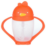 Lollacup Straw Sippy Cup | Happy Orange